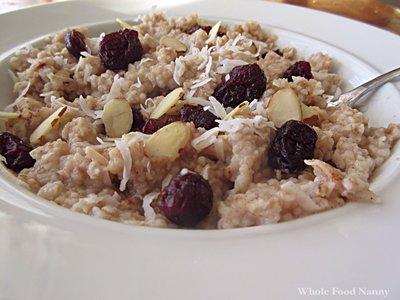 laura clark steel cut oats recipe photo