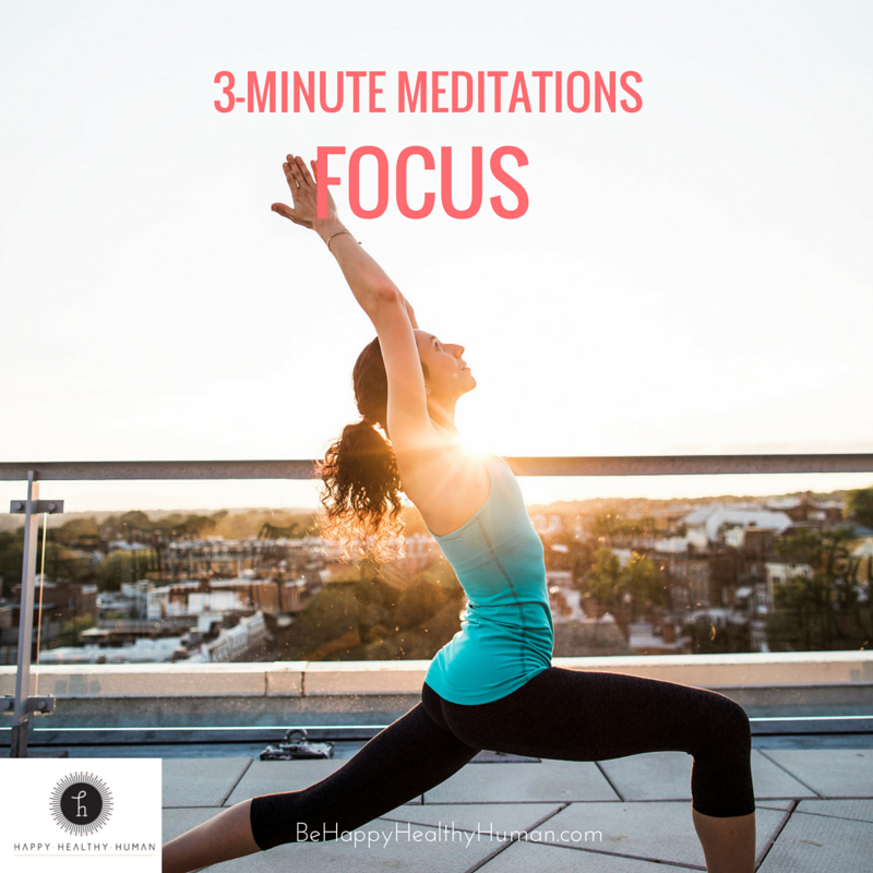 guided meditation focus photo