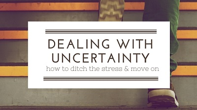 dealing with uncertainty photo