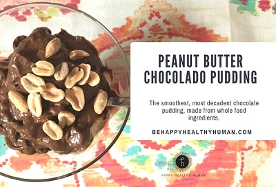 peanut butter chocolate avocado pudding recipe
